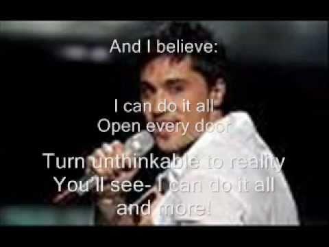 Dima Bilan-Believe Lyrics