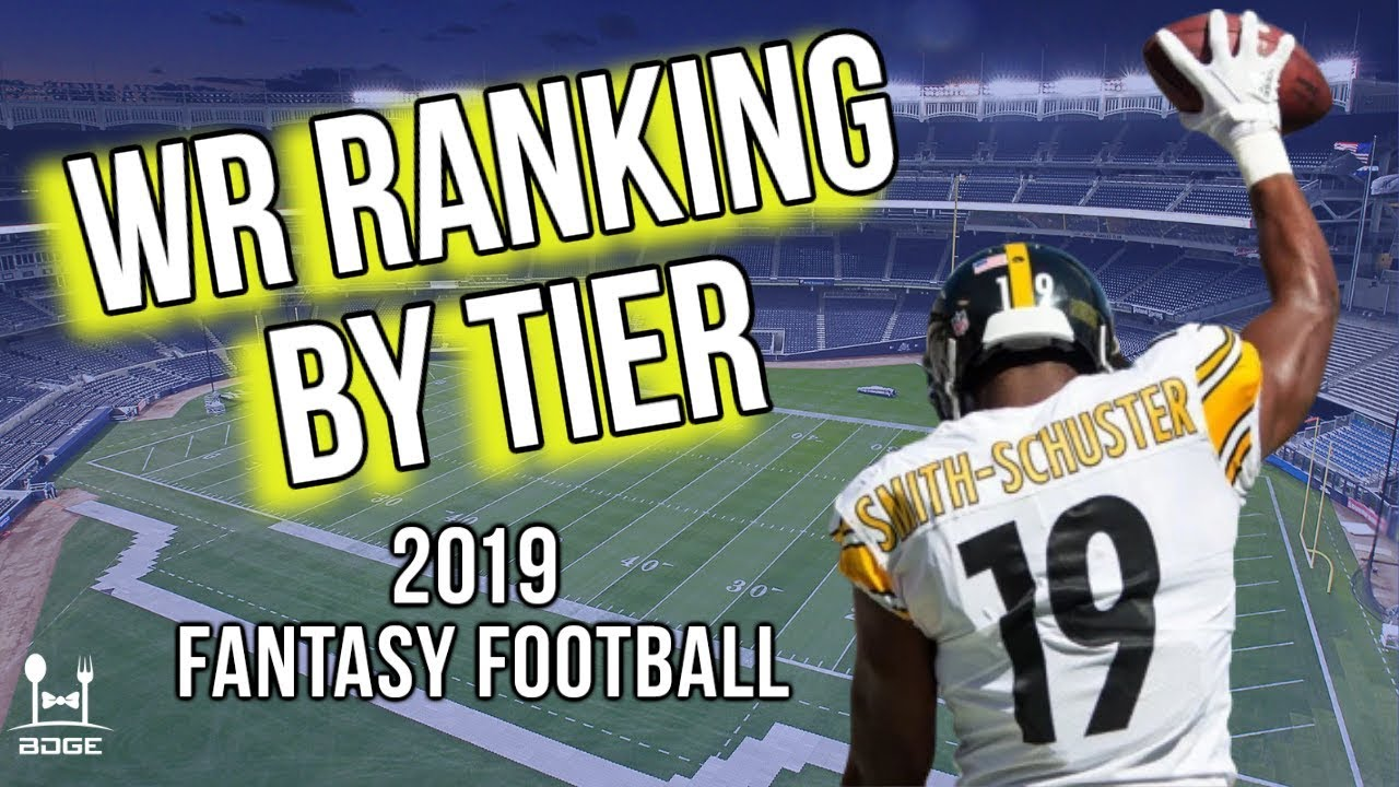 Best Wr Fantasy 2019 The 20 BEST Wide Receivers for 2019 Fantasy Football   YouTube