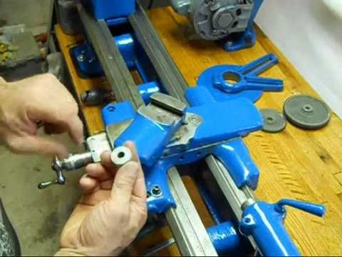 Southbend 9A restore #4 Assembling the saddle and slides