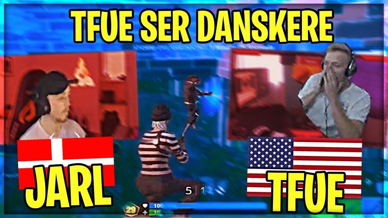 TFUE SER DANSKERE SPILLE WORLD CUP! | Danske Fortnite Highlights #353