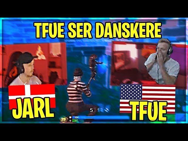 TFUE SER DANSKERE SPILLE WORLD CUP!   Danske Fortnite Highlights #353