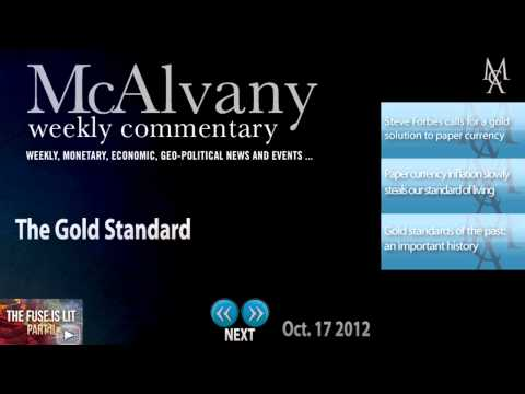 The Gold Standard | McAlvany Commentary