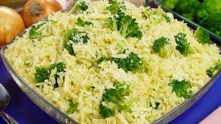 Arroz Com Brócolis – O jeito Correto de Preparar Para Não Perder os Nutrientes