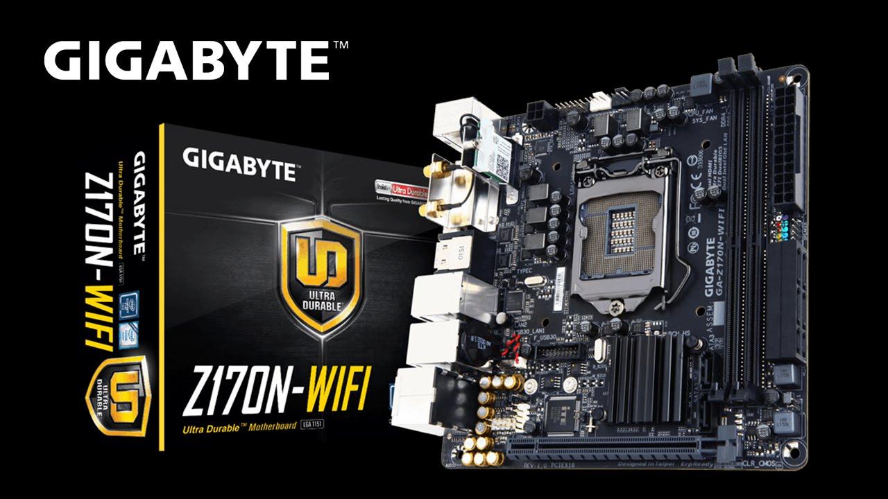 GIGABYTE GA-Z170N-WIFI INTEL WLAN TREIBER WINDOWS XP