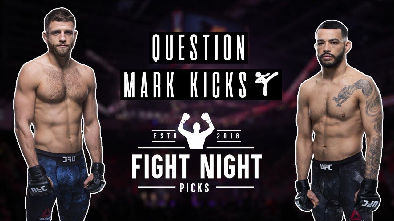 Question Mark Kicks Ufc Fight Night Kattar Vs Ige Youtube