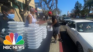 Heroes Of COVID-19: How Watts Community Activists Banded Together To Feed Their Neighbors   NBC News