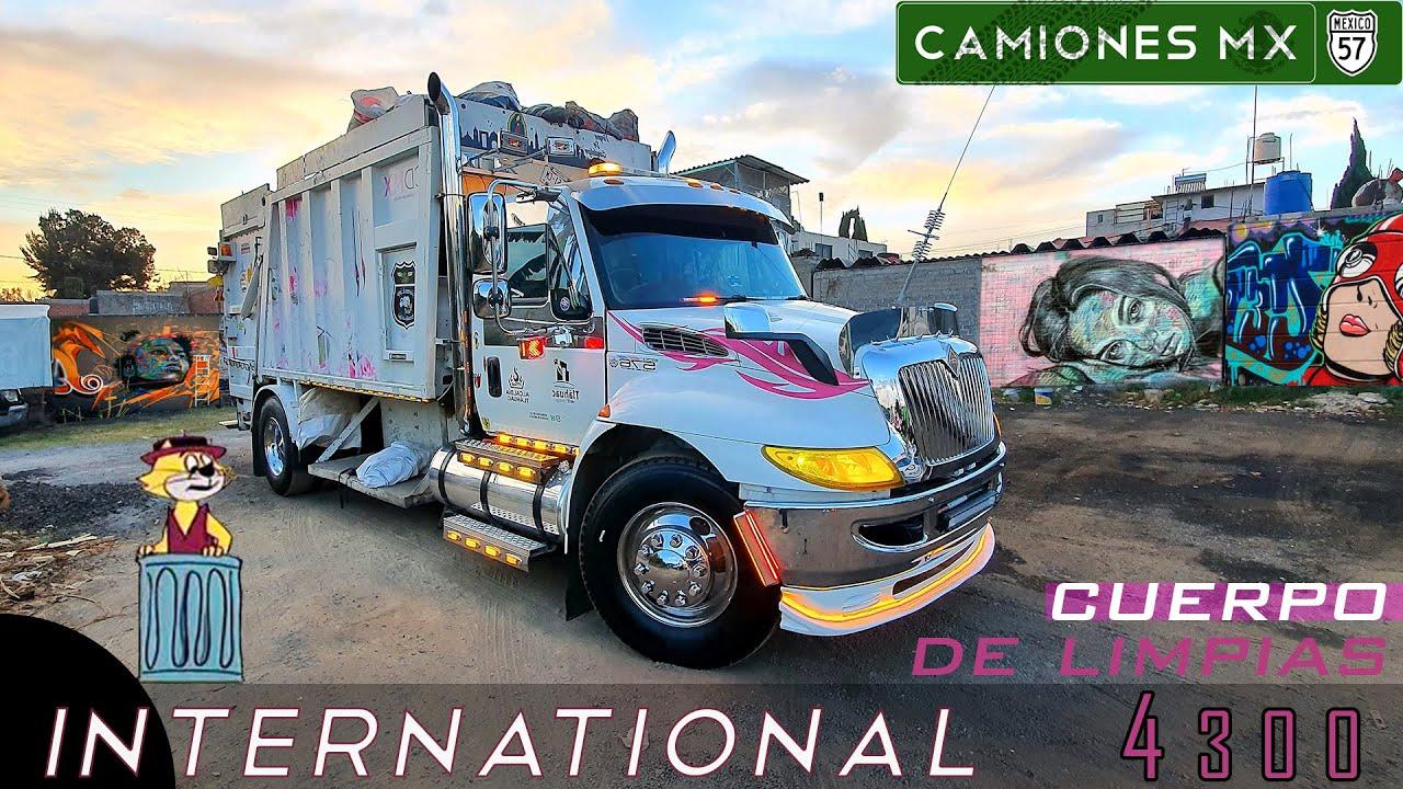 ¡International 4300 del Cuerpo de Limpias en Camiones Mx!