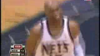 Vince Carter - Nine 3 pointers