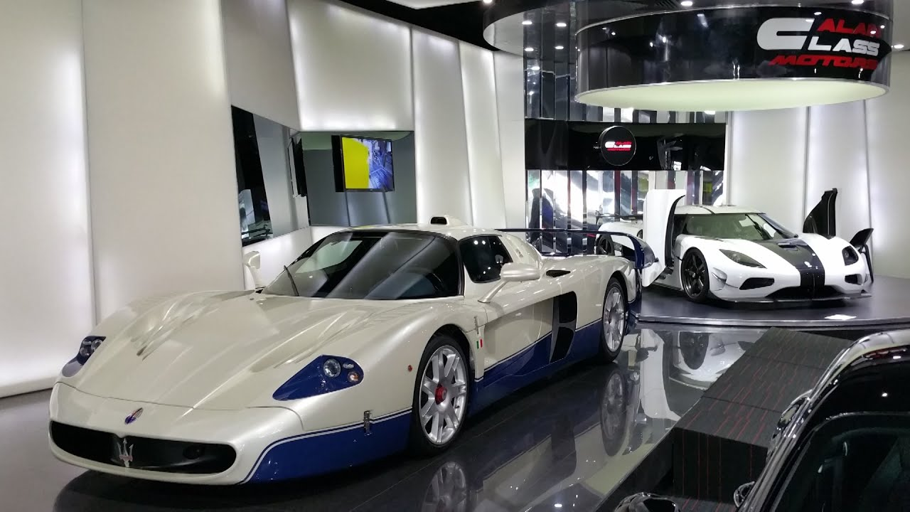 Dubai\'s Best Exotic Car Dealership : Full Tour of Al Ain Class ...