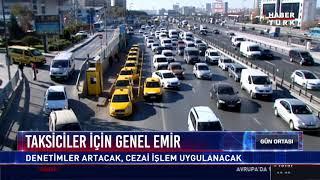 Taksiciler için genel emir