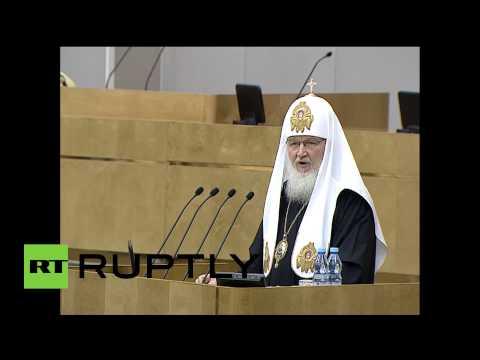 Патриарх Кирилл: Электронные