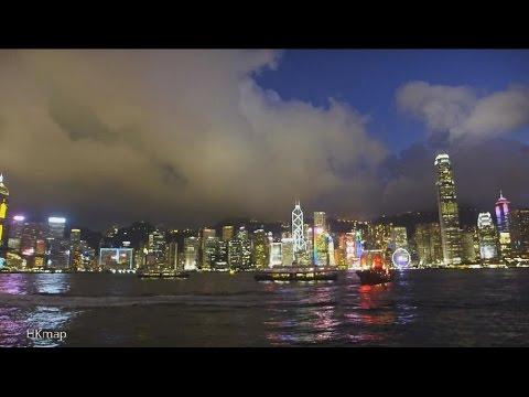 Victoria Harbour Sunset @ Tsim Sha Tsui