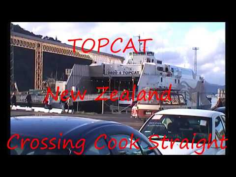 TOPCAT NZ Cook Straight Fast Ferry