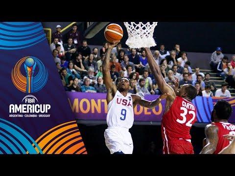 USA v Panama - Full Game - FIBA AmeriCup 2017