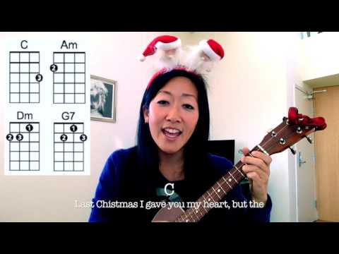 Last Christmas - Wham // Easy Holiday Ukulele Play-Along