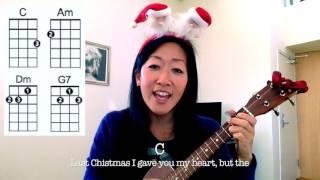 Last Christmas - Wham // Easy Holiday Ukulele Play-Along.mp3