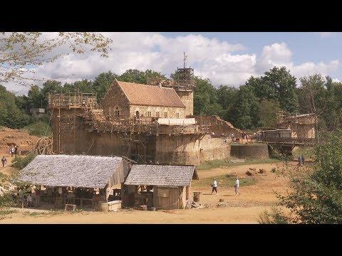 Guédelon, les bâtisseurs de château : C'est là ! en Bourgogne-Franche-Comté