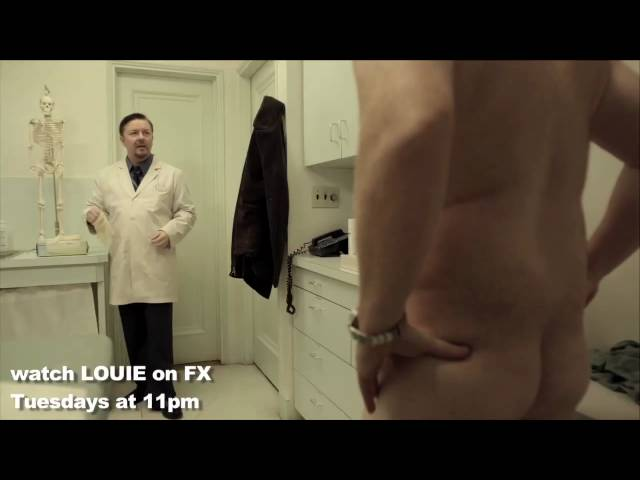 Louis CK Ricky Gervais in episode 3 of LOUIE on FX TUESDAYS 11pm