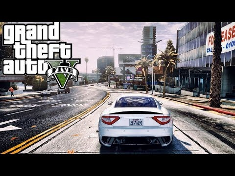 Grand Theft Auto V Ultra Realistic Graphics Gameplay  - GTA 5 Mods [4k60 FPS] thumbnail