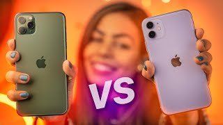 iPhone 11 vs iPhone 11 Pro Review - 2 Weeks Later!
