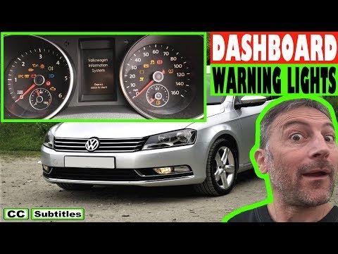 VW Passat Dashboard Warning Lights Overview