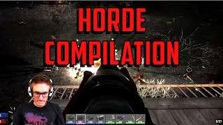7 Days to Die | HORDE COMPILATION!