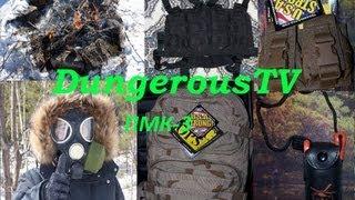 Обзор на противогаз ПМК-3/Gas Mask PMK-3 (DangerousTV)
