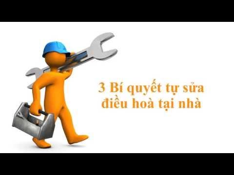 3 Bí quyết tự sửa điều hoà tại nhà