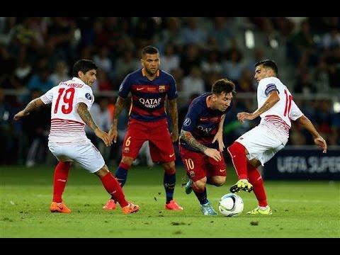 Barcelona - Sevilla Özet  | 5 - 4 | UEFA  Süper Kupa 2015