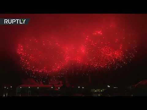 عرض ضوئي وشهب نارية تضيء السماء في حفل اختتام الألعاب العسكرية الدولية  - نشر قبل 2 ساعة