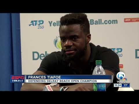 Daniel Evans upsets Frances Tiafoe 2/19