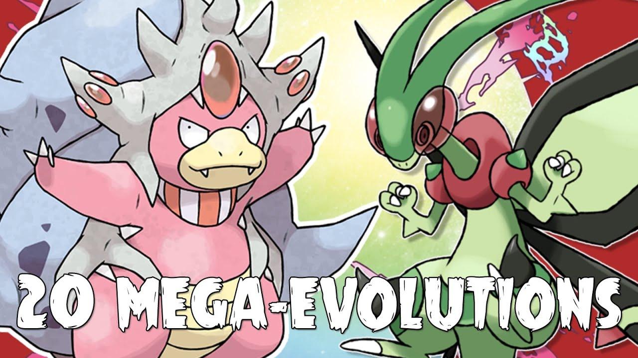 20 nouvelles mega volutions pokemon par les fans 3 youtube - Les mega evolution ...