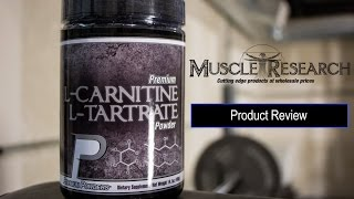 L-Carnitine L-Tartrate supplement review video by Muscle Research