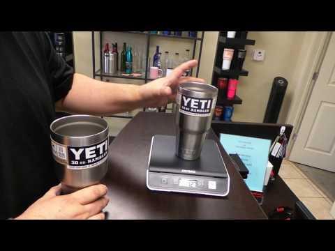 Cutting A Yeti Cup In Half Doovi