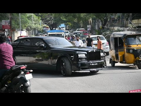 (MAFIA) Rolls Royce | INDIA | Reactions | Hyderabad