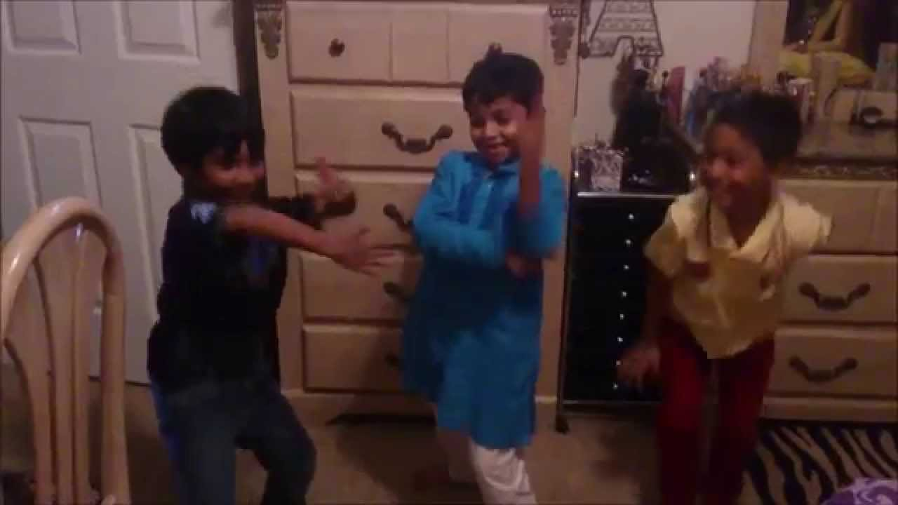 Kids dancing to hindi song 1234 get on the dance floor for 1234 get on the dance floor chennai express