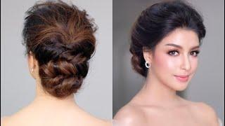 Princess Bridal Hairstyle Tutorial ทรงแบบเจ้าสาวหวานๆ สไตล์เจ้าหญิง โดย ครูหญิง ภัครา ปิติปฐมสิน