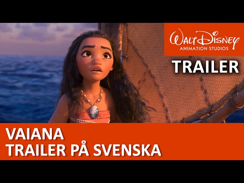 Vaiana | Officiell svensk trailer