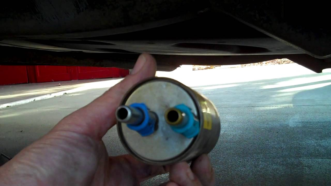 how to do a fuel filter chevy trail blazer gmc envoy