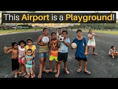 This AIRPORT is a PLAYGROUND! (Seriously)