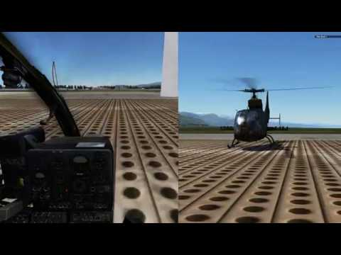 DCS 1.5 Gazelle - Improve your piloting skill mission