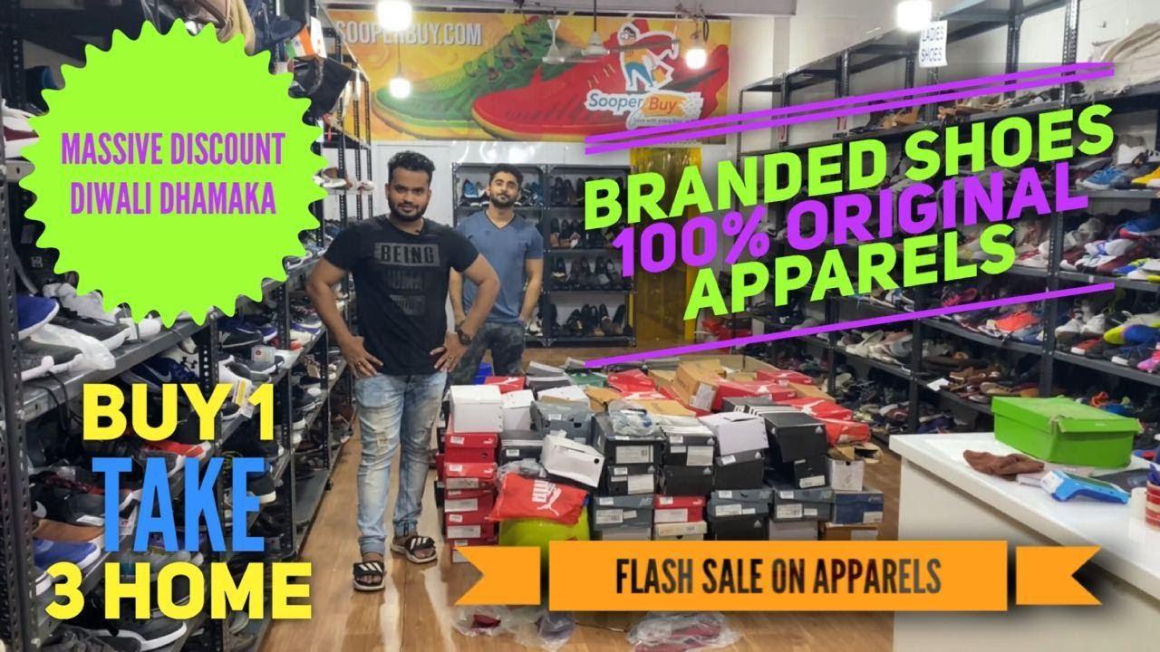 Sooperbuy Goregaon| Buy 1 Take 3 And Dhamakedaar Dushera Offer |100% Original Footwear and Apparels