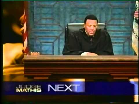 GLITTER AND HER LOVE FROM TUCSON,AZ ON JUDGE MATHIS