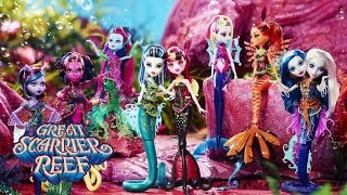 Monster High's Great Scarrier Reef Comes to Life in Set Form   Monster High