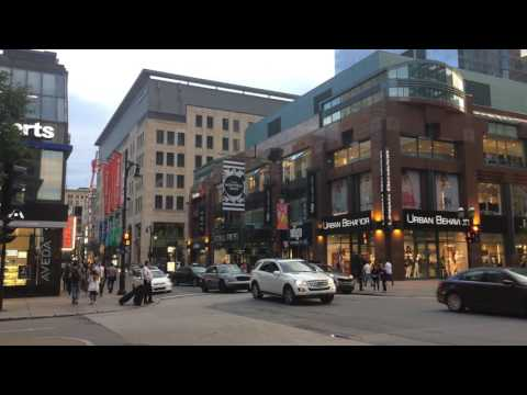 Ste-Catherine Street, Montreal, Canada, 28 June 2017 / An Evening Walk