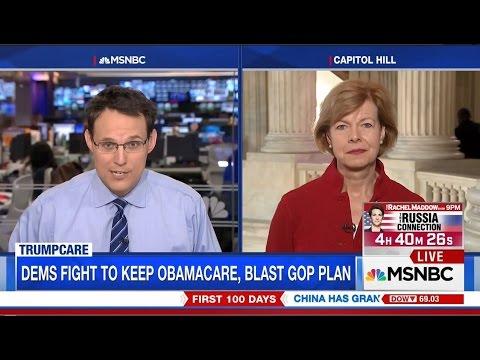 MSNBC: Senator Baldwin on TrumpCare