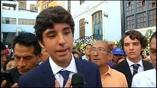 """""""Mi papá no se suicidó. Todos sabemos quién lo mató"""", dijo el hijo de Alan García"""