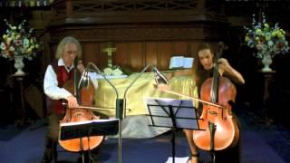 """Kummer Cello Duet No 1, 3rd movement Allegro Scherzoso """"The little elephant"""""""