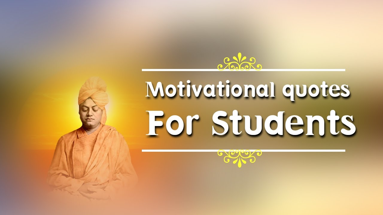 Famous Motivational Quotes For Students
