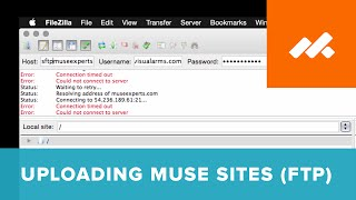Part 6: Using FTP to Upload - The Complete Guide to Web Hosting and Domains in Adobe Muse CC